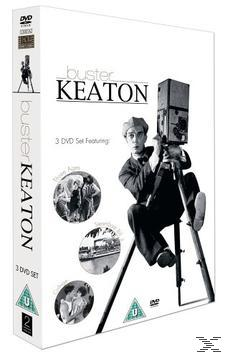 Buster Keaton - College / Steamboat Bill Jr. / Three Ages DVD-Box