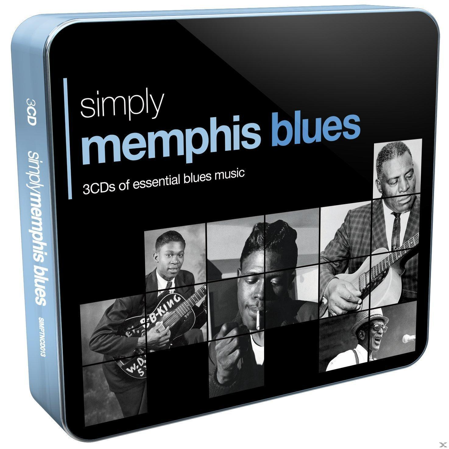 SIMPLY MEMPHIS BLUES (3CD)