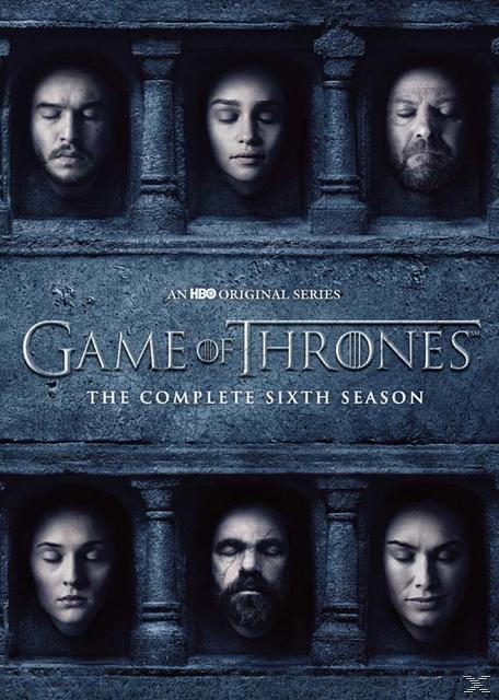 GAME OF THRONES SEASON 6 (DVD)