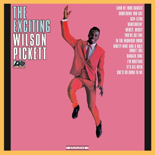 EXCITING WILSON PICKET (LP)