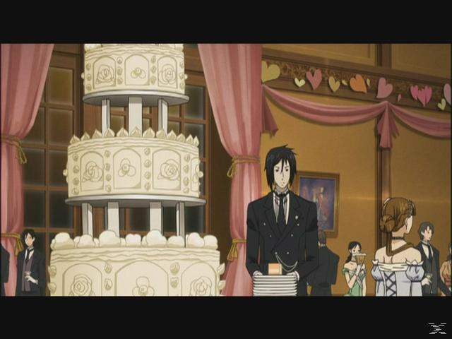 BLACK BUTLER 2.3.STAFFEL - (DVD)