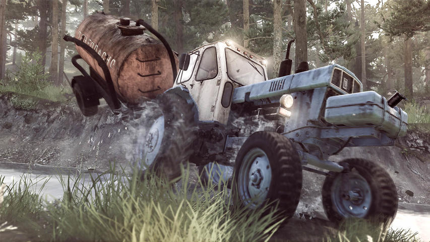 Spintires: Mudrunner - American Wilds Edition - PlayStation 4