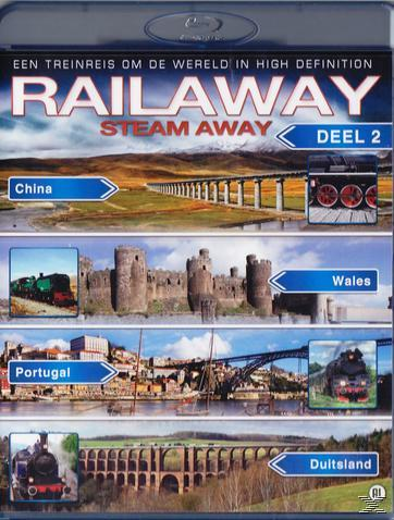 STEAM AWAY 6-9 [BLU RAY]