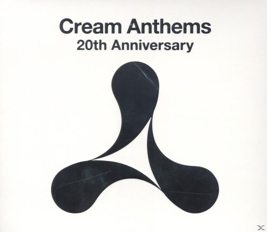 CREAM ANTHEMS 20TH ANNIVERSARY (3CD)