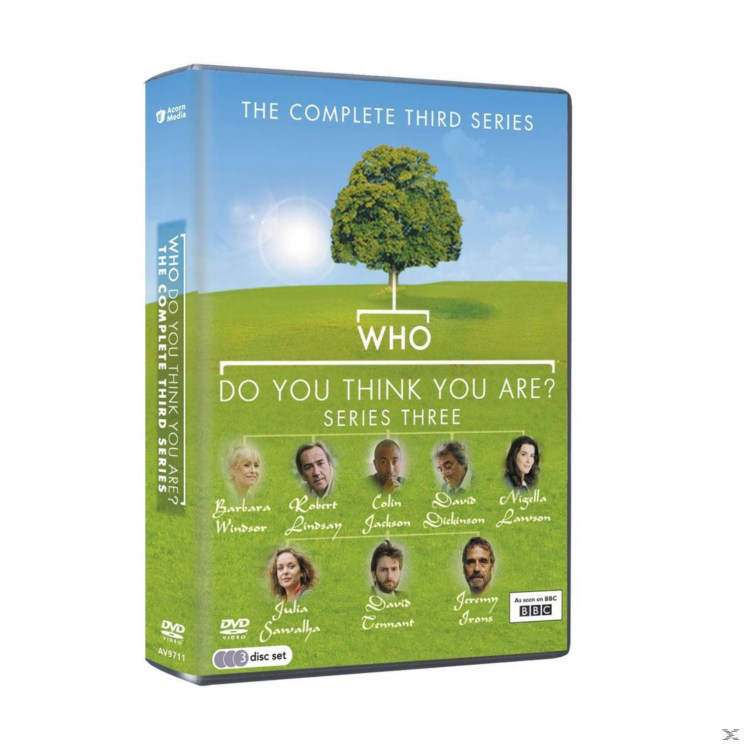 Who Do You Think You Are? - Series 3 DVD-Box