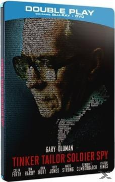 TINKER TAILOR SOLDIER SPY (BL+DVD STB)