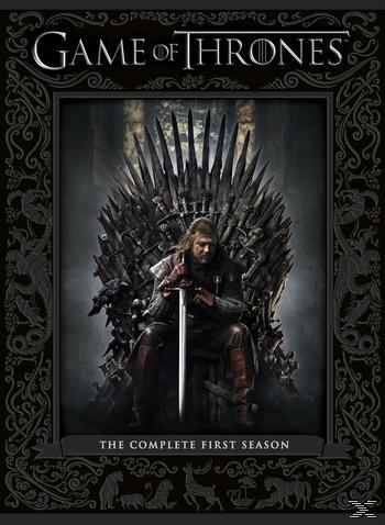 Game of Thrones - The Complete First Season DVD-Box