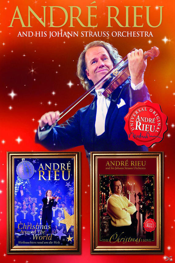 ANDRE RIEU CHRISTMAS AROUND (2DVD)