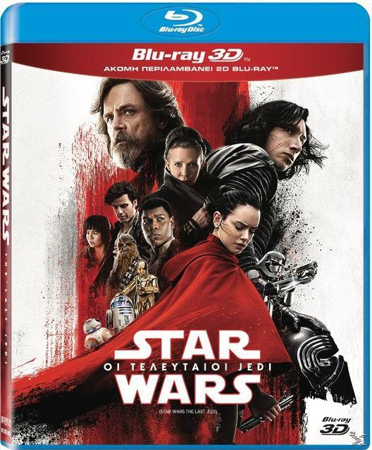 STAR WARS: THE LAST JEDI 3D [BLU RAY]