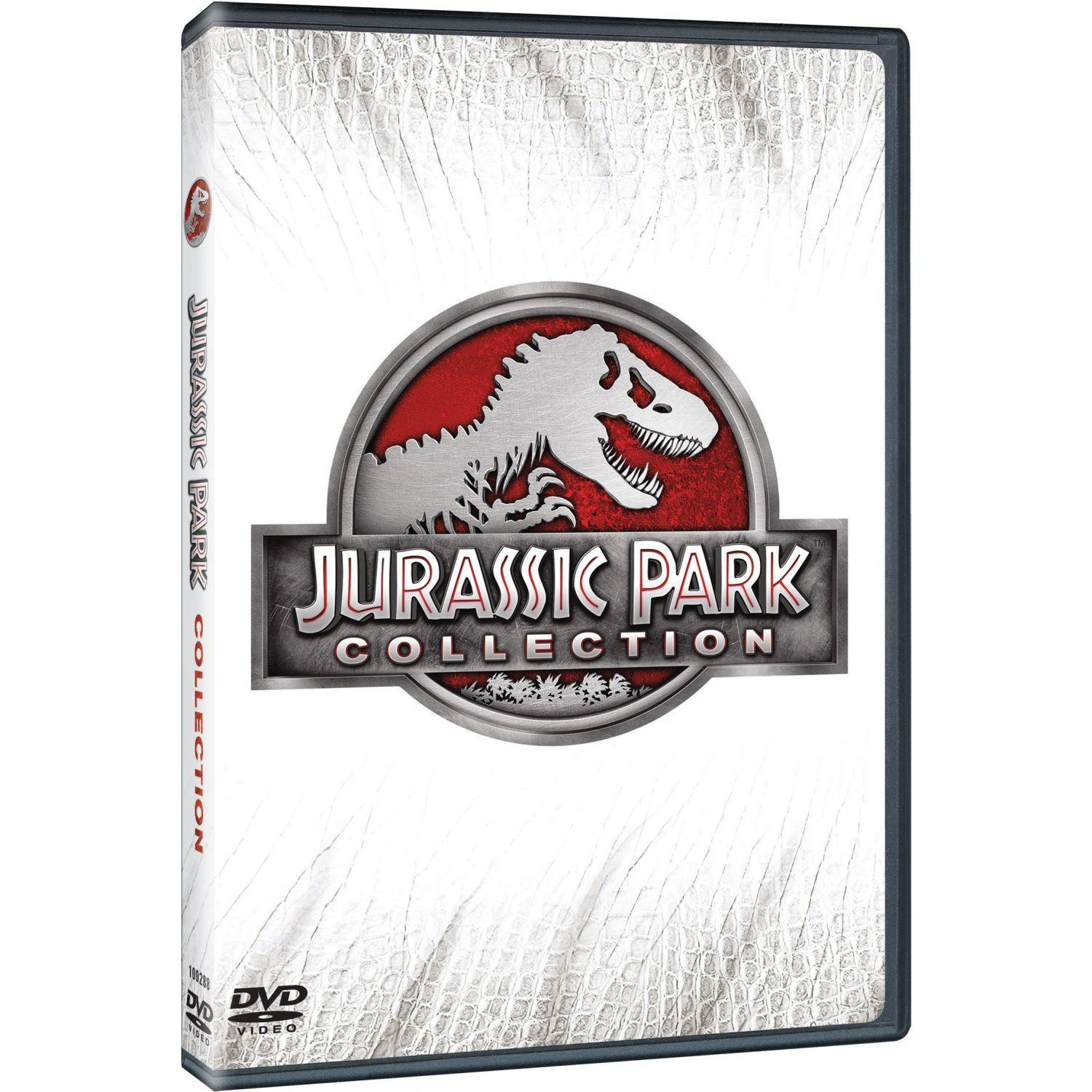 JURASSIC PARK COLLECTION (4DVD)