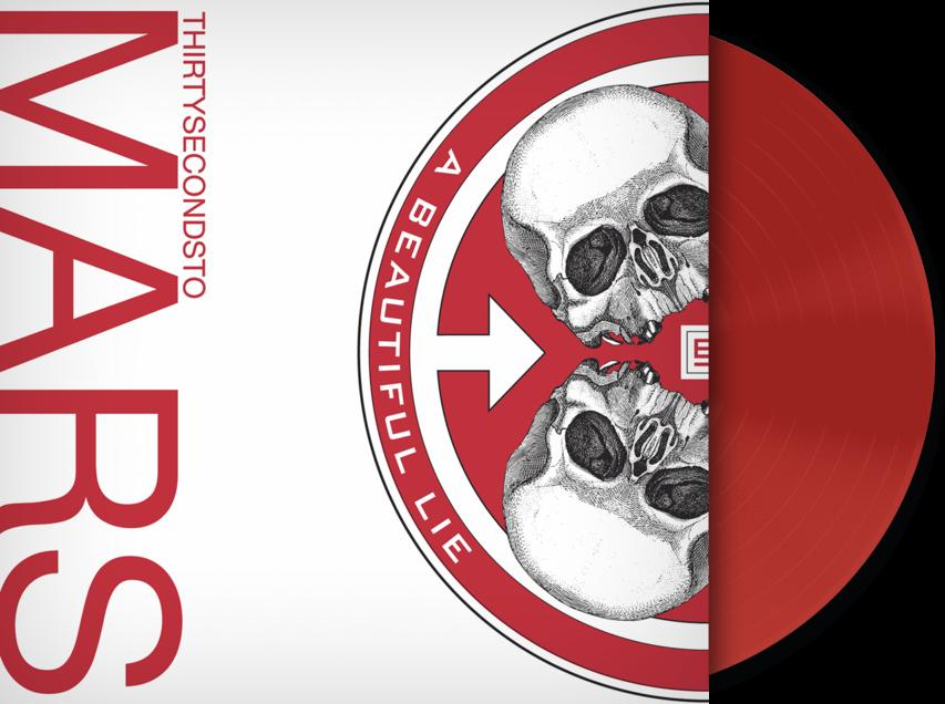 A BEAUTIFUL LIE (LP RED)