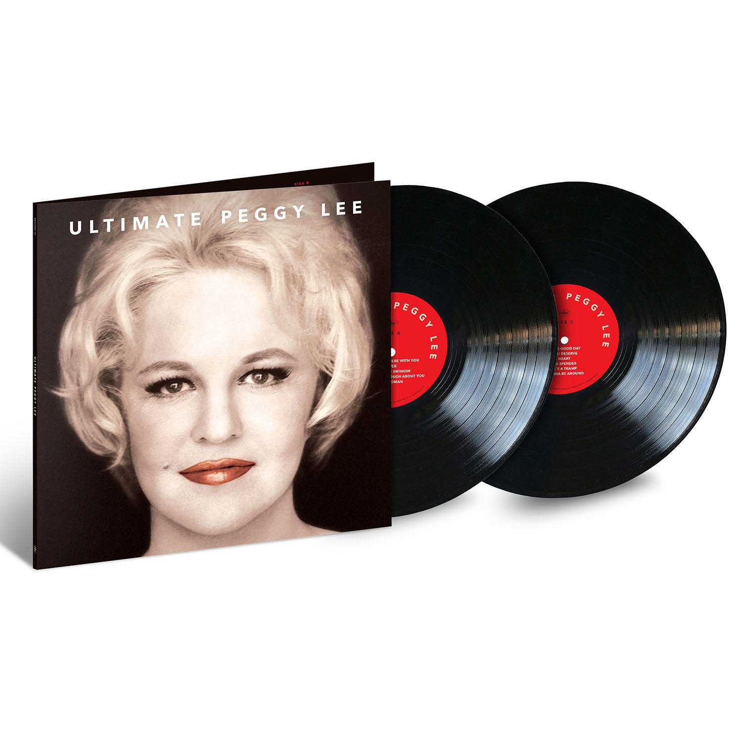 ULTIMATE PEGGY LEE  (2LP)