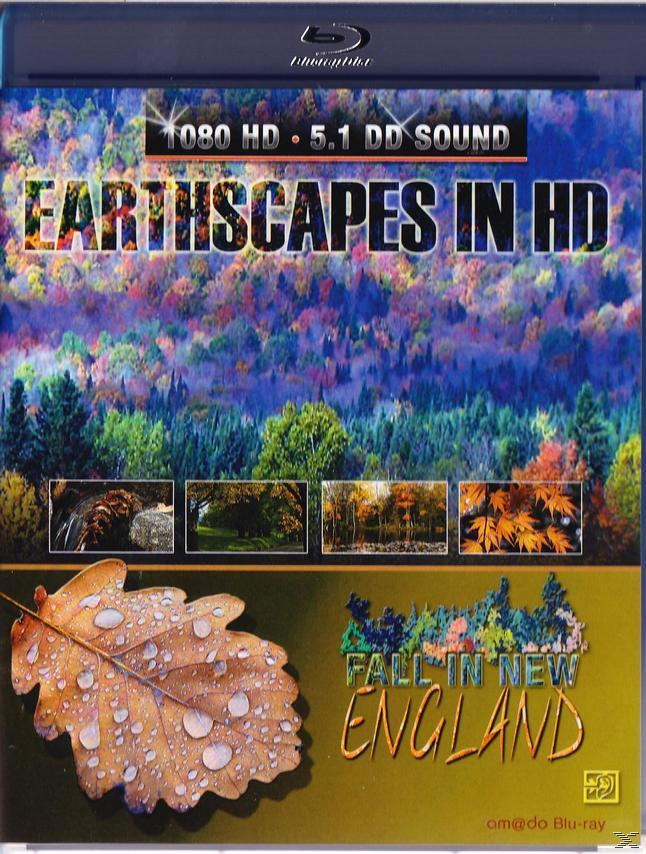 EARTHSCAPES-FALL IN NEW ENG[BLU RAY]