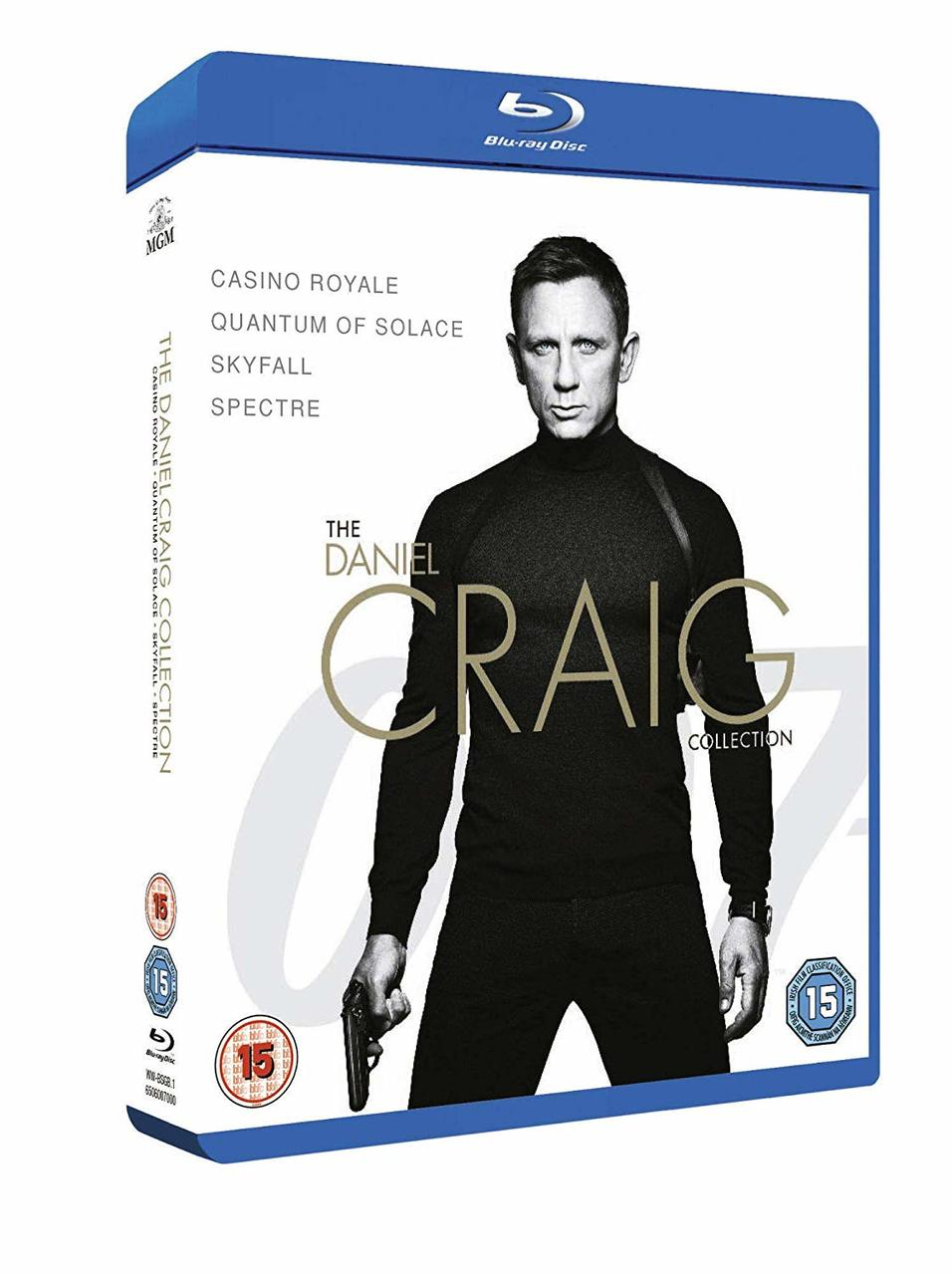 DANIEL CRAIG COLLECTION (BLURAY)