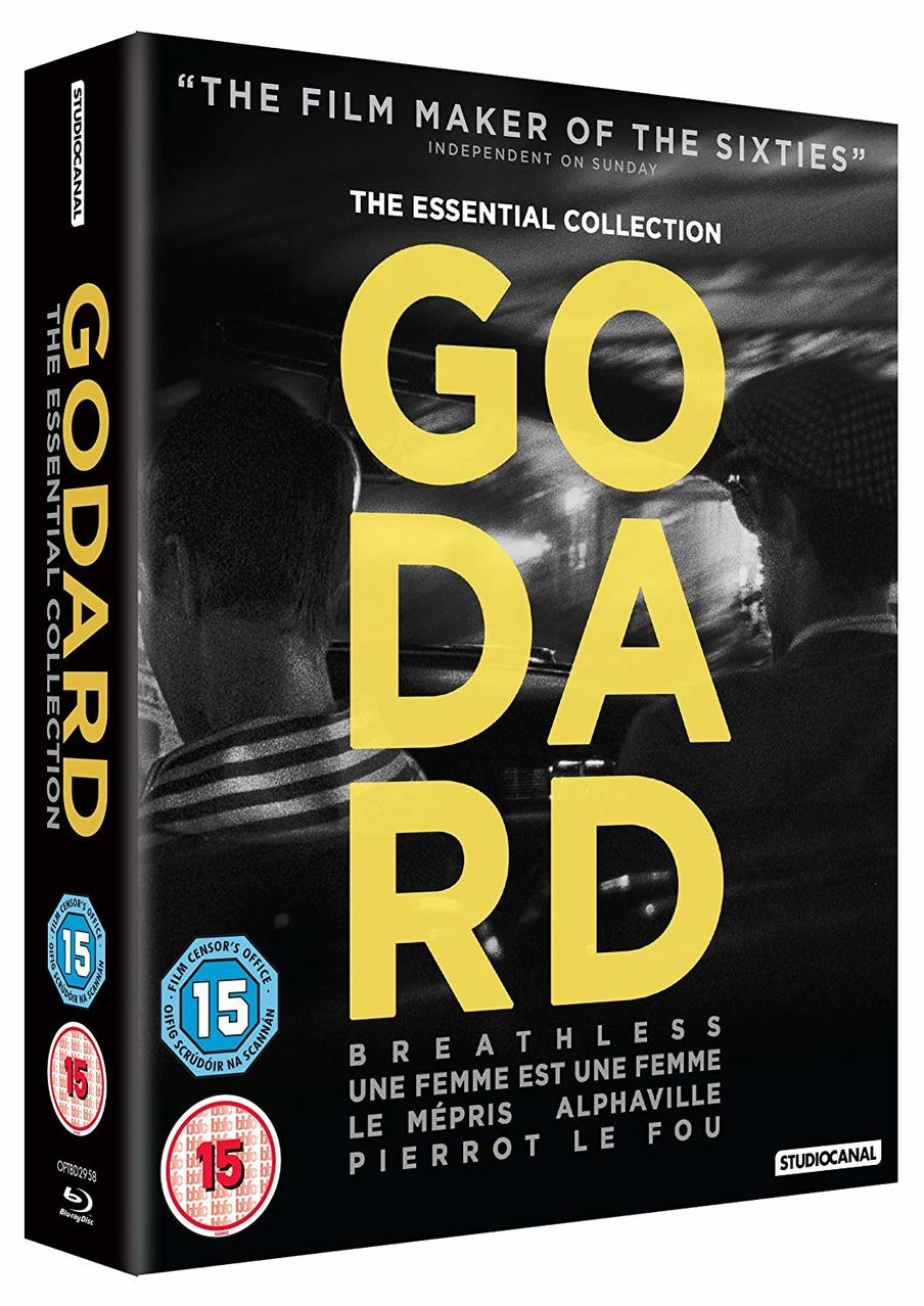 GODARD THE ESSENTIAL COLLECTION (5BL)