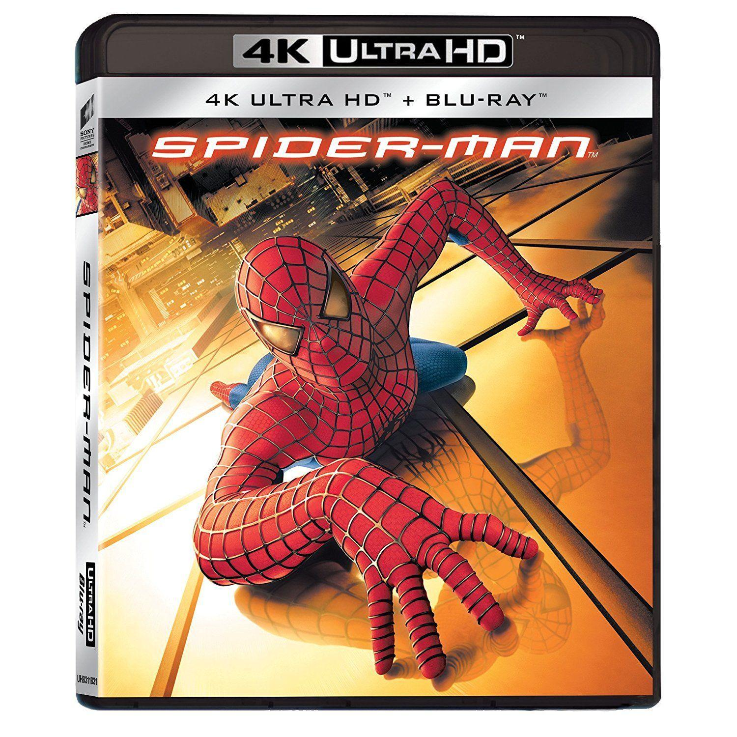 4K SPIDER-MAN [&BLU RAY]