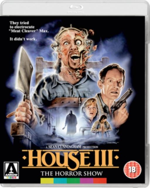 HOUSE III: THE HORROR SHOW (BLURAY)