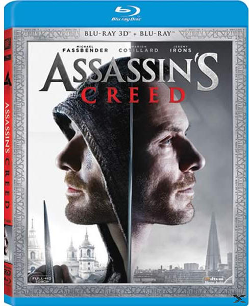 ASSASSINS CREED 3D [&2D BLU RAY]