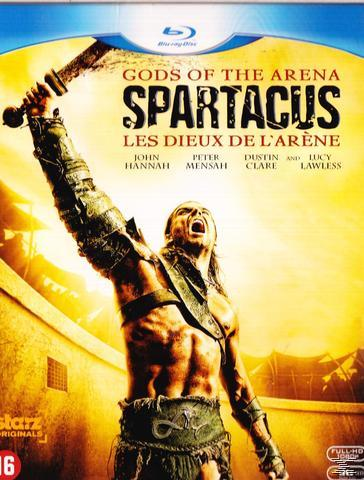 SPARTACUS PREQUEL GODS OF...[BLU RAY]